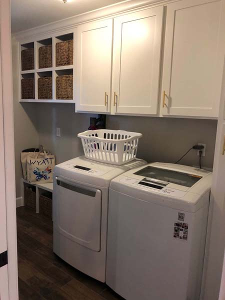 Bayou Bridge Home Remodel Laundry Room