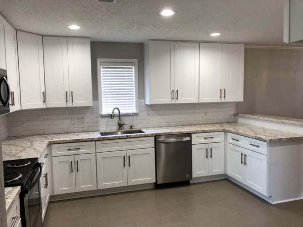 Beasly Home Remodel White Kitchen