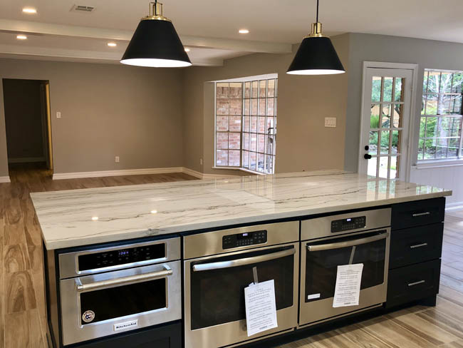 Eastwood Home Remodel Kitchen Island